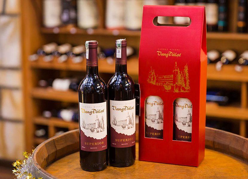Nhãn rượu vang Đà Lạt