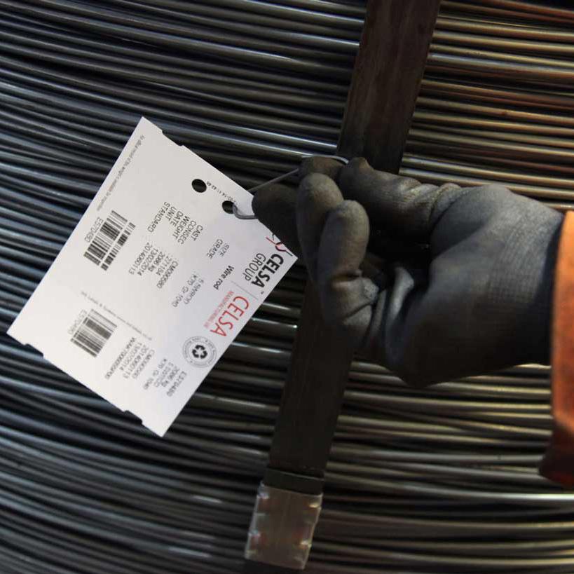In nhãn sắt thép bằng chất liệu giấy