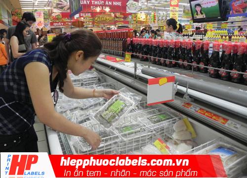 Nhãn thực phẩm tại siêu thị tiện lợi
