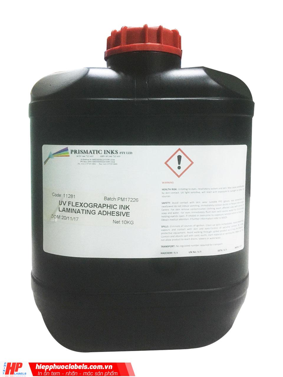 Keo cán màng, keo phủ bóng UV- Prismatic Ink -2 thùng