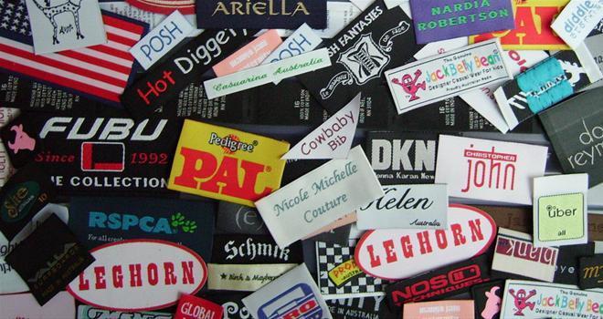 Different Garments Label