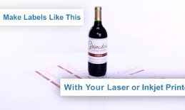Hướng dẫn tạo nhãn rượu bằng máy in laser hoặc inkjet