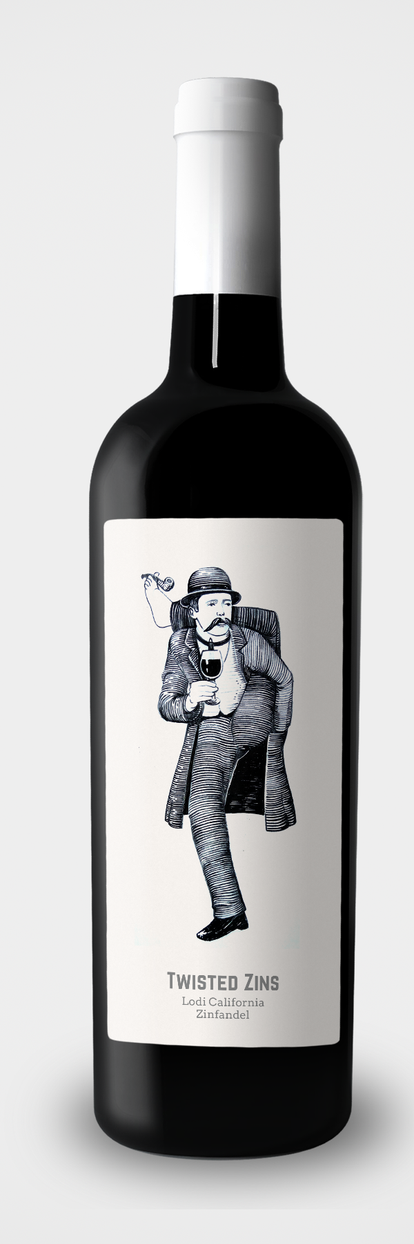 Một nhãn hiệu đương đại thú vị của lemoor giúp sử dụng tuyệt vời một nhân vật độc đáo, bắt mắt. Nhãn rượu Minh họa bởi lemoor.