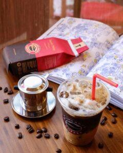 Bao bì nhận diện thương hiệu cafe