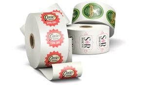 Các loại tem nhãn cuộn - roll label