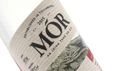 Nhãn rượu độc đáo sáng tạo Mor gin