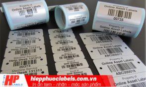 Chất liệu nhãn in polypropylene và Polyethylene
