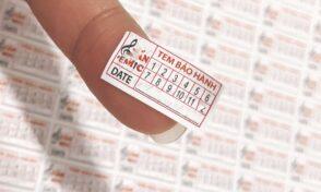 Các loại tem vỡ và quy trình sản xuất